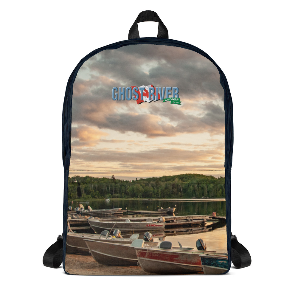 Ghost River Lodges - Backpack - Boats - Front