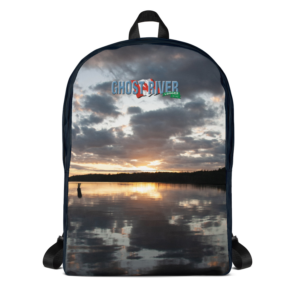Ghost River Lodges - Backpack - Sunset - Front