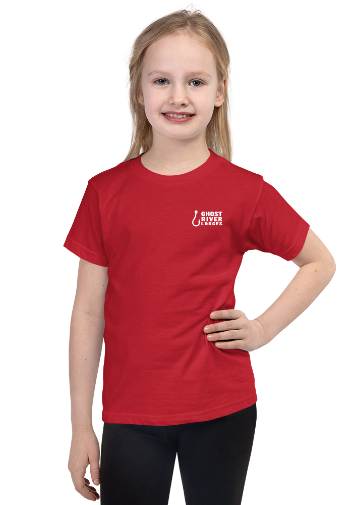 Ghost River Lodges - Kids Red Tshirt