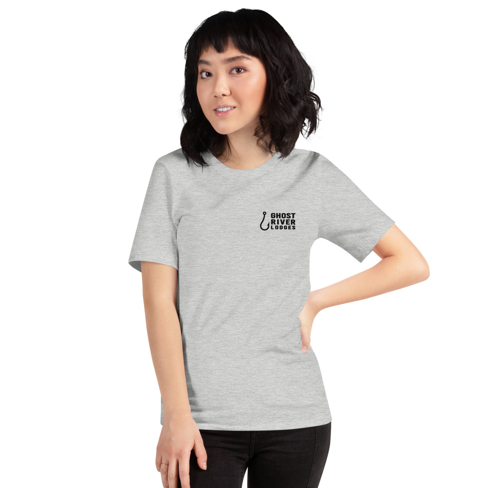 Ghost River Lodges - Ladies Grey Tshirt