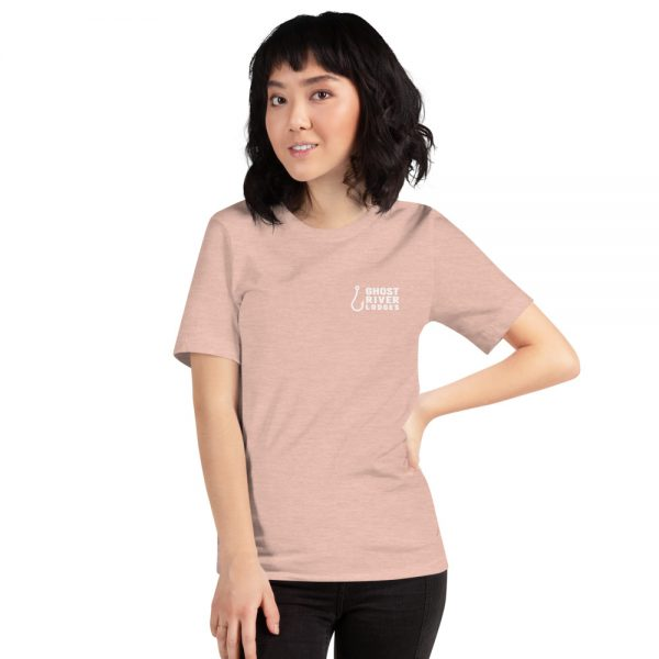 Ghost River Lodges – Ladies Peach Tshirt