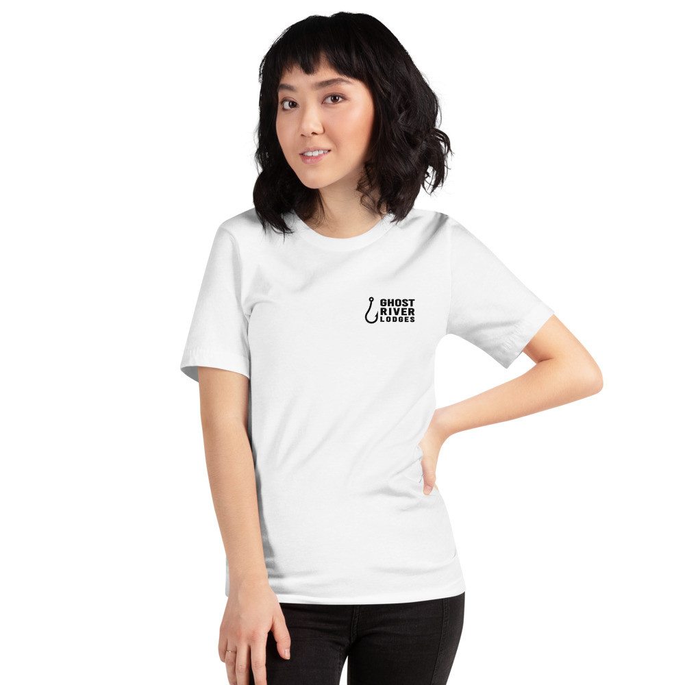 Ghost River Lodges - Ladies White Tshirt