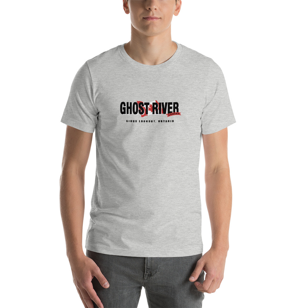 Ghost River Lodges - Mens Athletic Heather Classic Tshirt