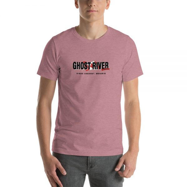 Ghost River Lodges – Mens Heather Orchid Classic Tshirt
