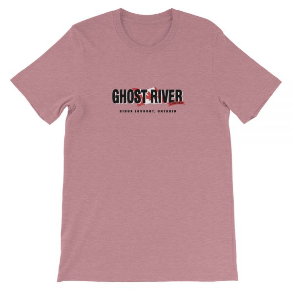 Ghost River Lodges – Mens Heather Orchid Classic Tshirt – Flat.jpg