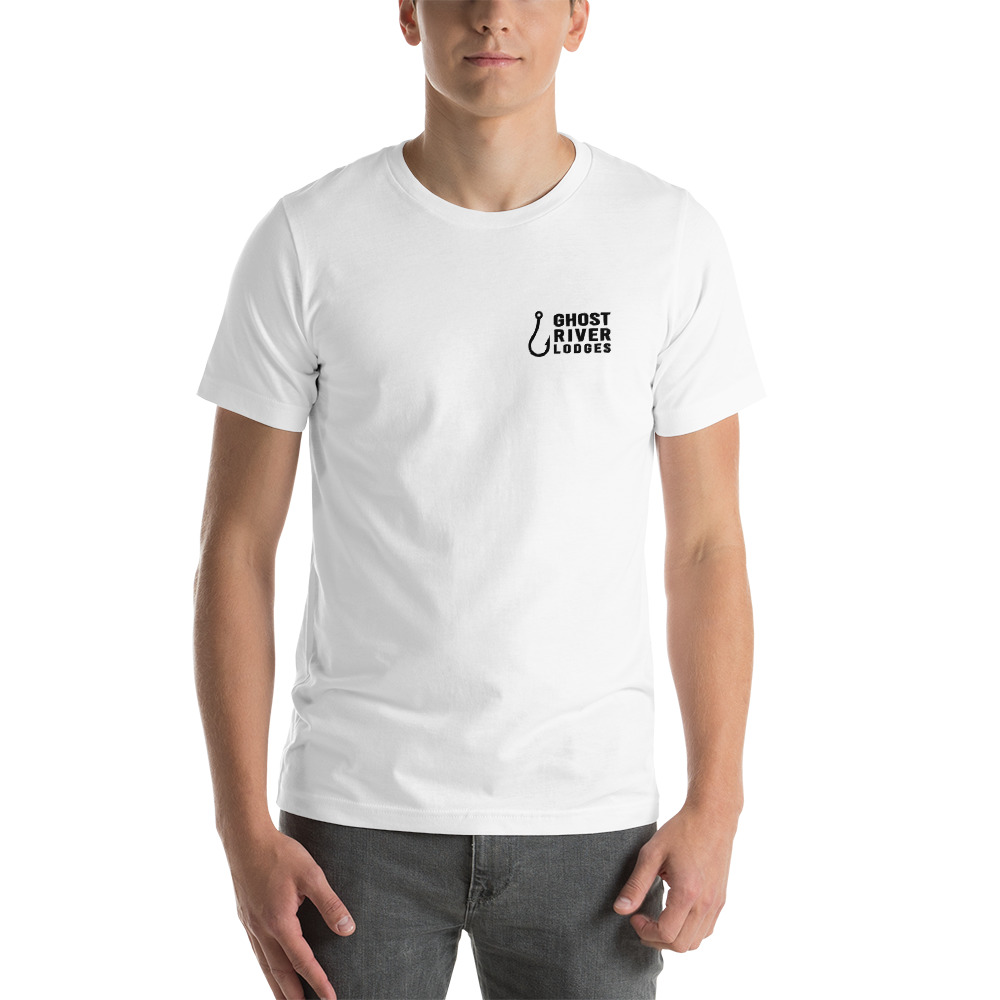Ghost River Lodges - Mens White Tshirt