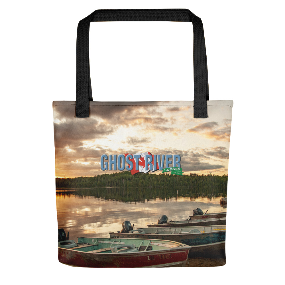 Ghost River Lodges - Tote - Boats - Front