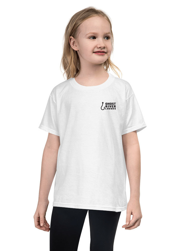 Ghost River Lodges - Youth White Tshirt